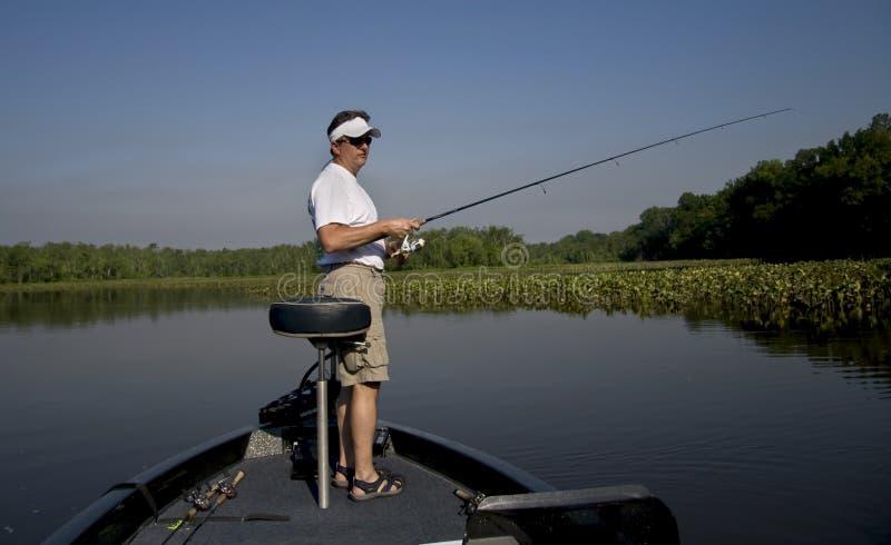 rzeka połowów zdjęcie royalty free