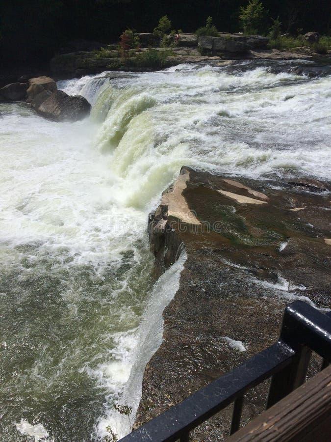 Rzeka przy Ohiopyle obraz royalty free