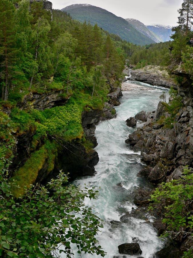 Rzeka Rauma zdjęcia royalty free
