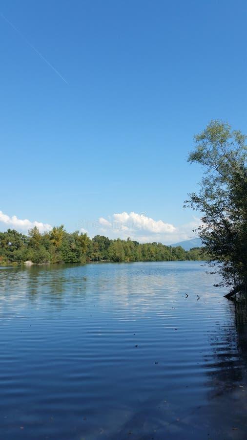 rzeka ren obrazy stock