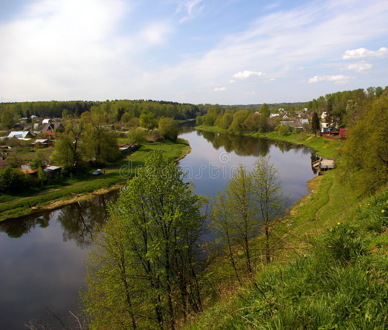 rzeka ruza obrazy stock