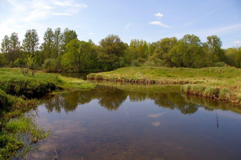 rzeka ruza fotografia stock