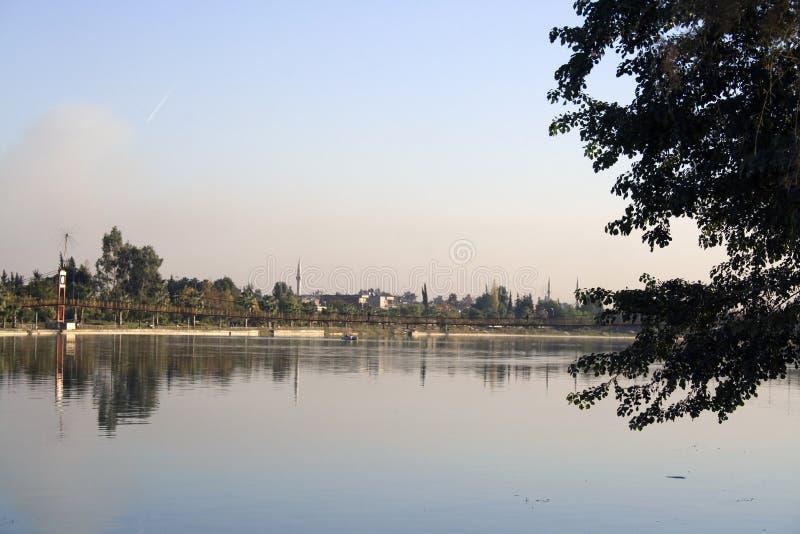 rzeka seyhan zdjęcie stock