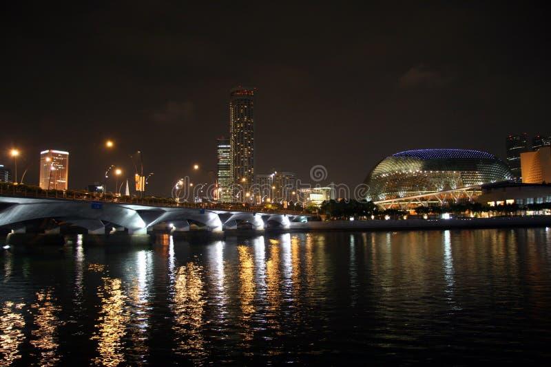 rzeka Singapore zdjęcia stock