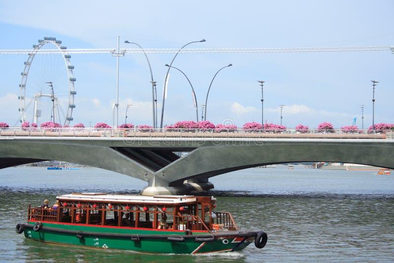 rzeka Singapore obraz royalty free