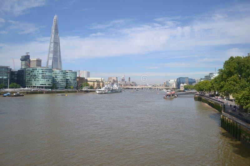 rzeka Tamiza obraz stock