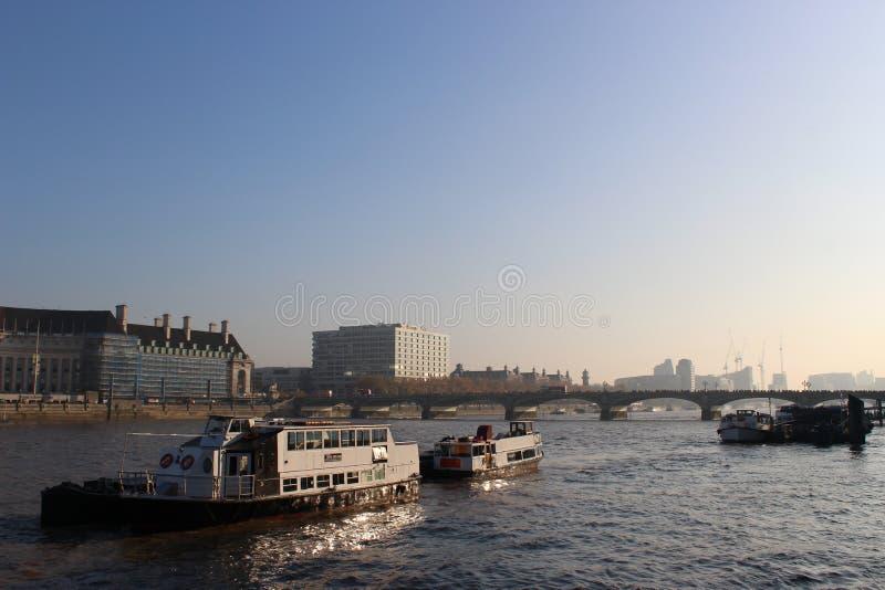 rzeka Tamiza obrazy royalty free