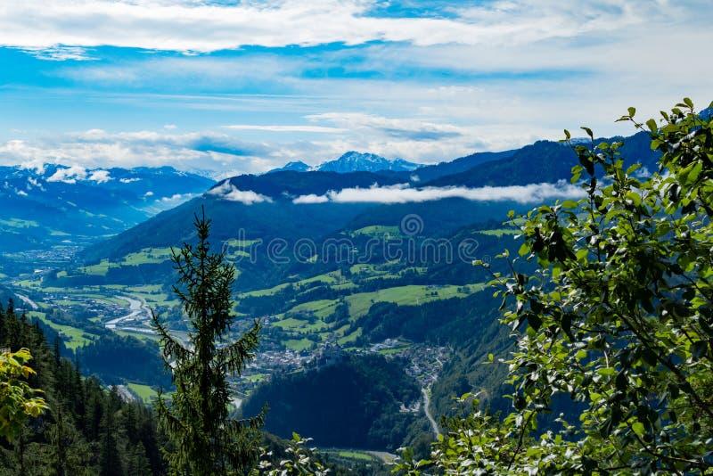 Rzeka w Austria obraz royalty free