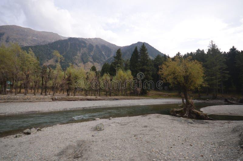 Rzeka w Kaszmir fotografia royalty free