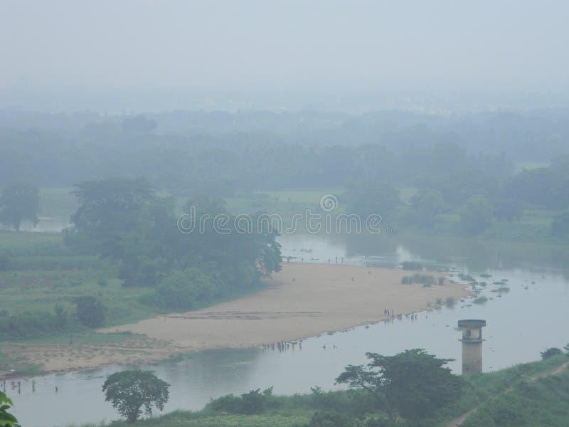 Rzeka w Puri fotografia royalty free