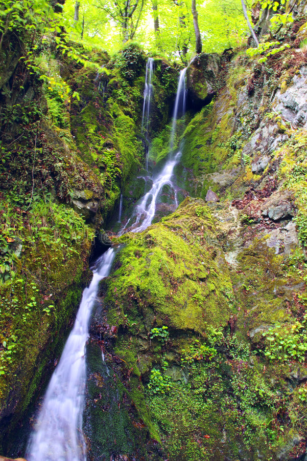 rzeka wodospad white obrazy royalty free