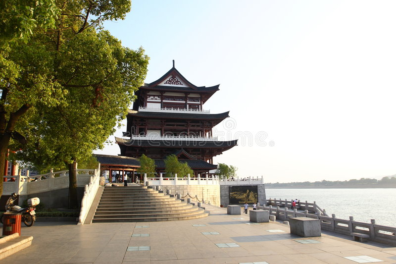 rzeka xiangjiang zdjęcie royalty free