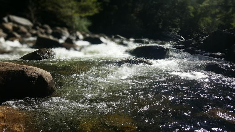 rzeka Yosemite fotografia stock