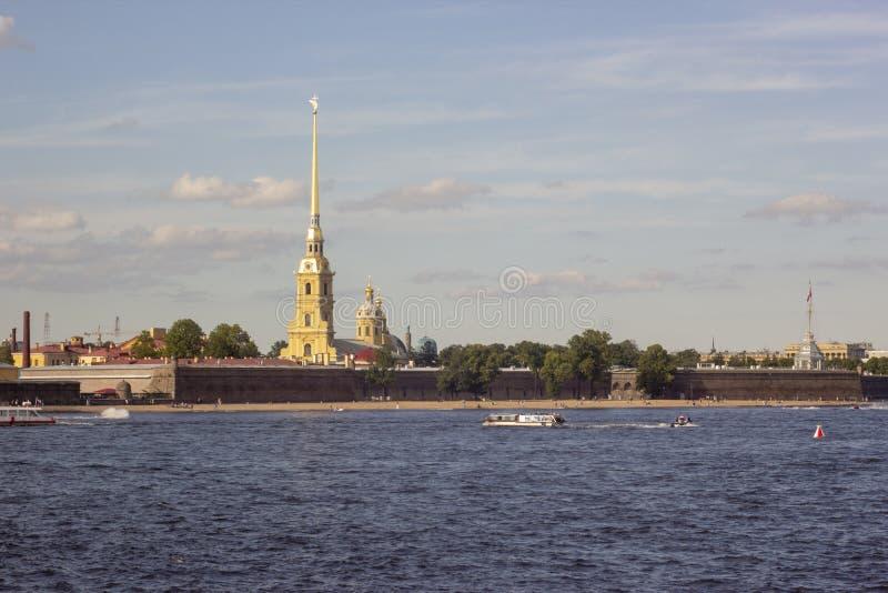 Rzeki i kanały Świątobliwy Petersburg obraz royalty free