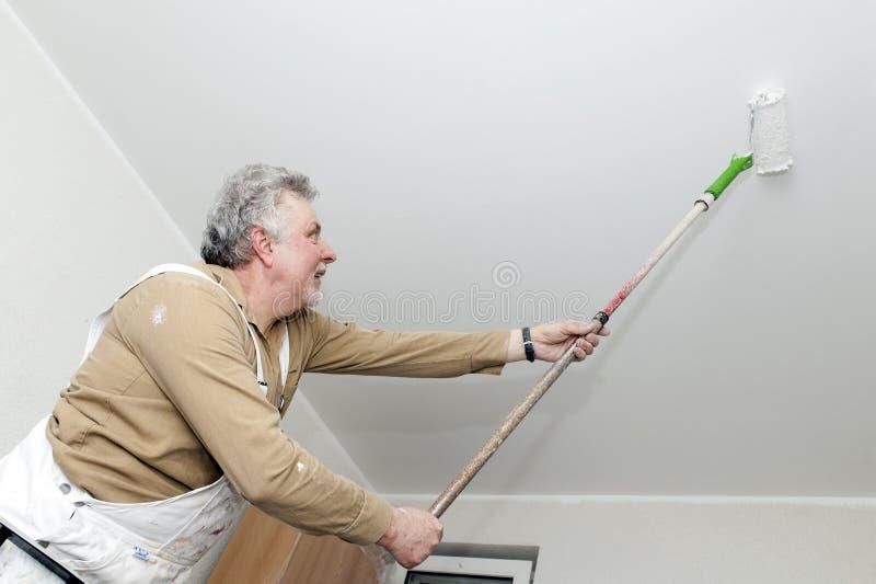 rzemieślników farby rolownik obraz stock