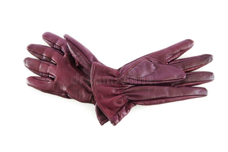 Download Rzemienne Rękawiczki Odizolowywać Na Biel Obraz Stock - Obraz złożonej z akcesorium, para: 13335945