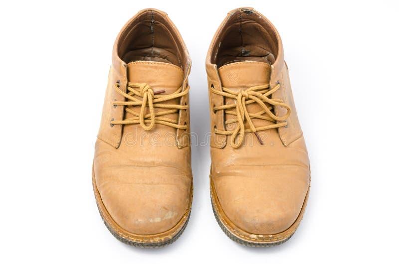 rzemienni starzy buty obrazy royalty free