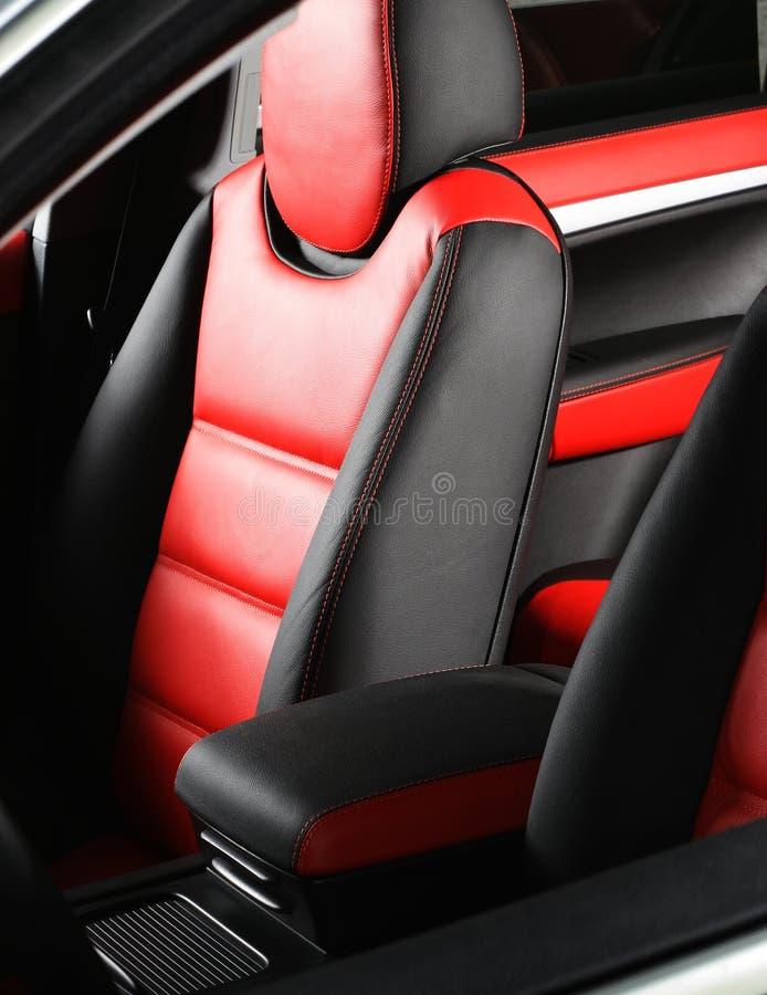 Rzemienny samochodowy siedzenie obrazy royalty free