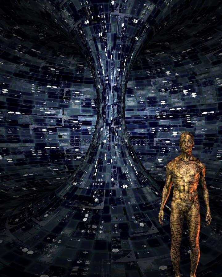 rzemiosło androidu rzemiosło ilustracja wektor