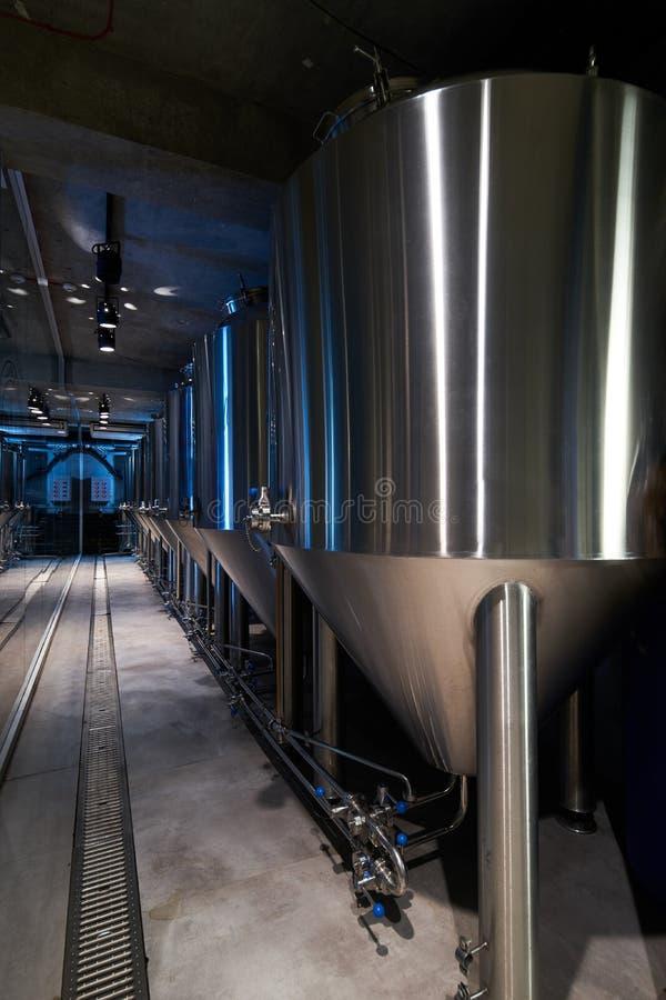 Rzemios?o produkcji piwny browar prywatnie, w g?r? obrazy stock