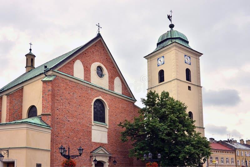 rzeszow fara церков стоковое изображение rf