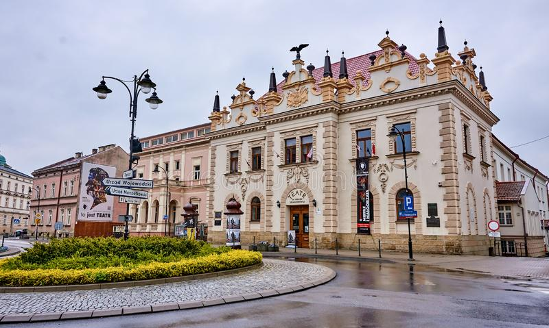 RZESZOW, POLAND - MAY 5, 2019: Theater named after Wanda Siemasz royalty free stock image