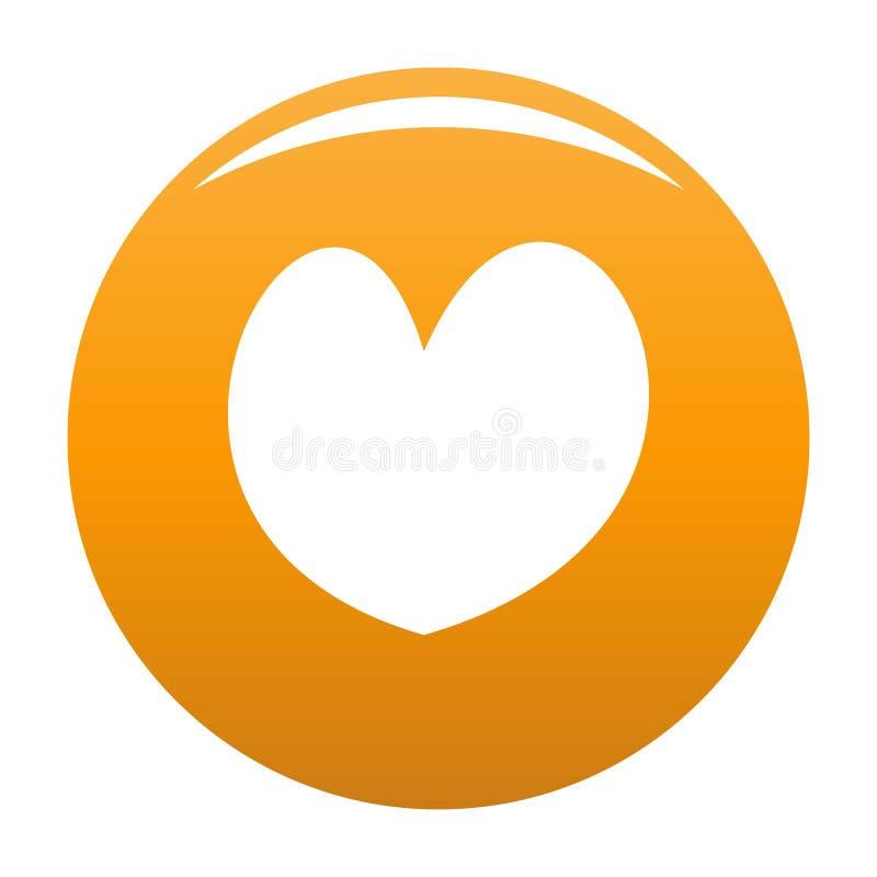 Rzetelna kierowa ikony pomarańcze ilustracji