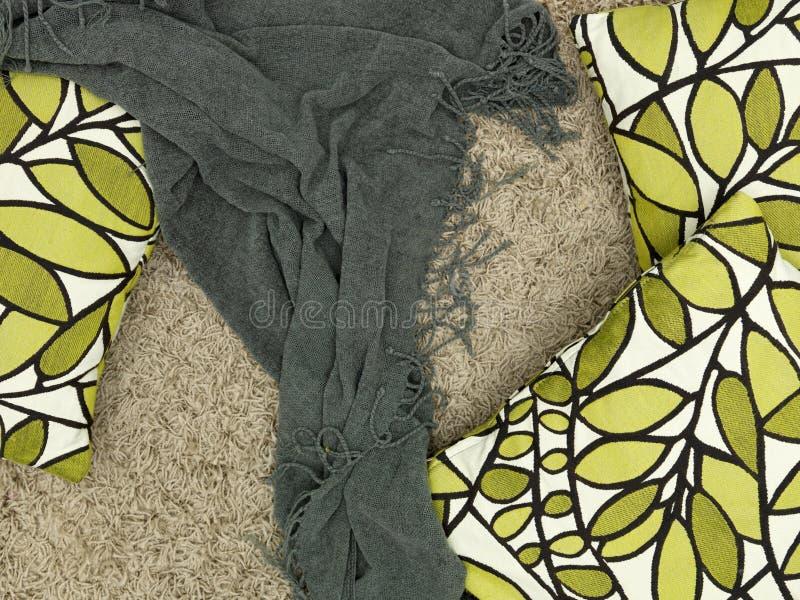 Rzutu dywanik obrazy stock