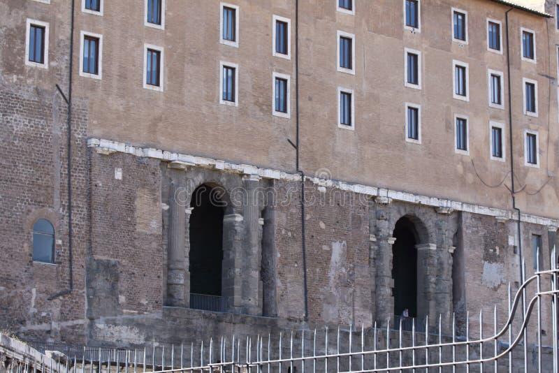 Rzym, Capitol pałac szczegół obrazy stock
