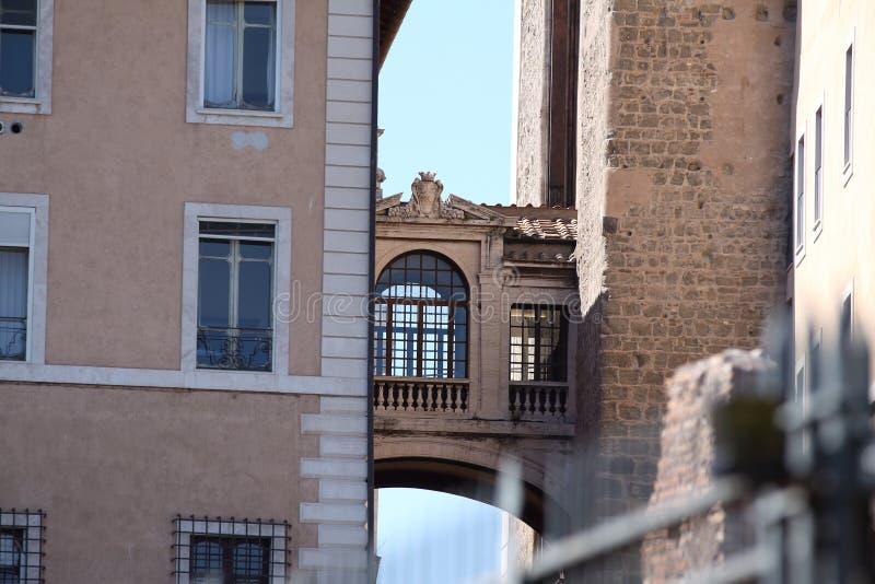 Rzym, Capitol pałac szczegół zdjęcie royalty free