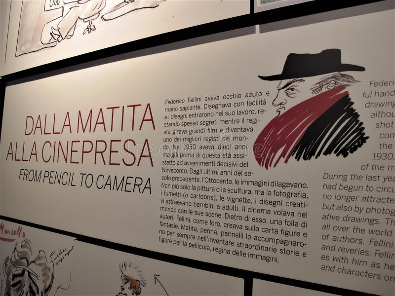 Rzym, Cinecittà studia obrazy royalty free