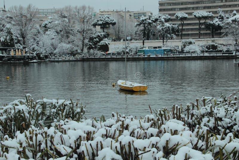 Rzym - Eur jezioro zdjęcie royalty free