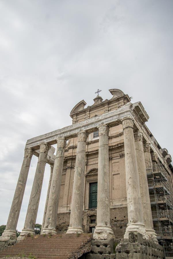 Rzym, forum romanum zdjęcie royalty free