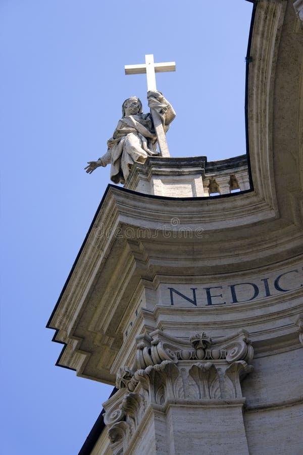 Rzym Italy catholicism bazyliki Santa croce obrazy royalty free
