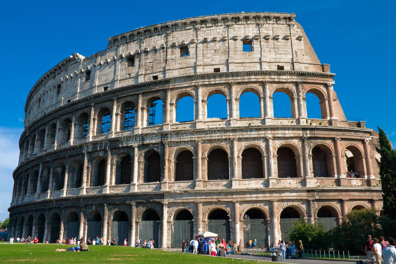 Rzym koloseum zdjęcia stock