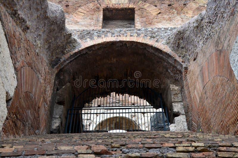 Rzym koloseum czy widok obrazy stock