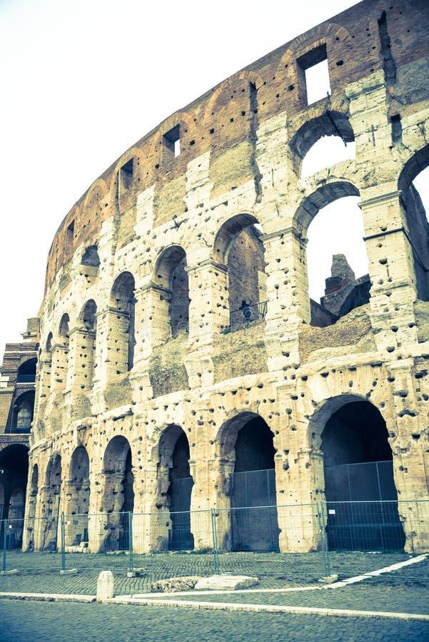 Rzym, Lazio, Włochy, Grudzień 2018: Kolosseum lub, jesteśmy owalnym amphitheatre, obrazy royalty free