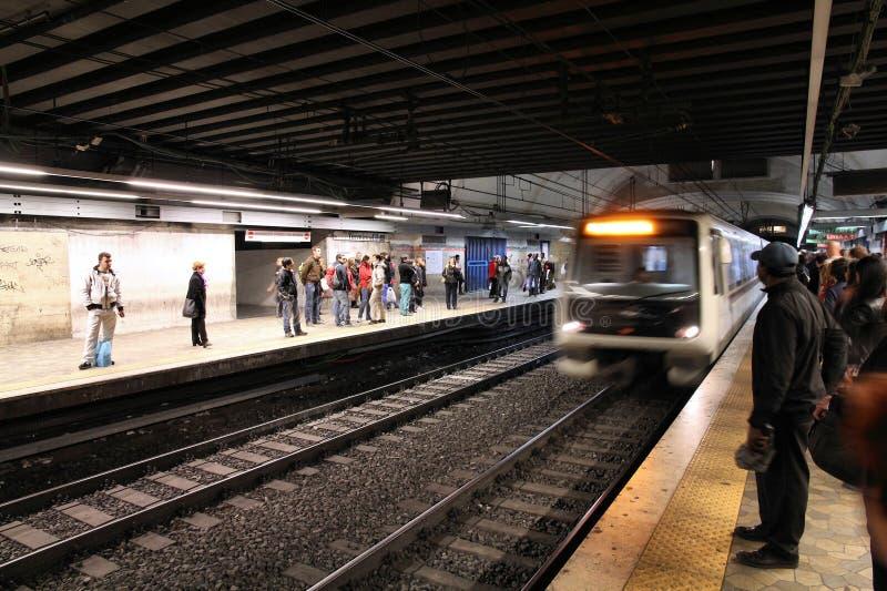 Rzym Metro zdjęcie stock