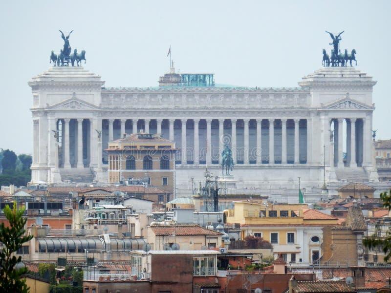 Rzym - ołtarz Patria od Pincio zdjęcie royalty free