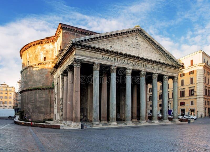 Rzym - panteon fotografia royalty free