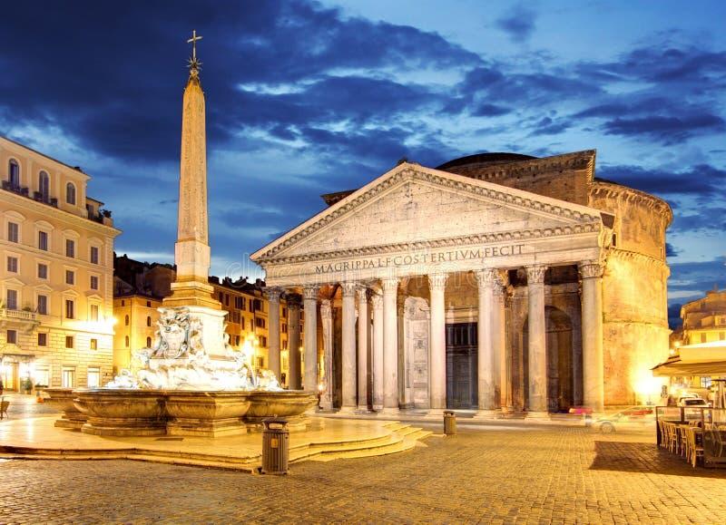 Rzym - panteon, Włochy zdjęcia royalty free