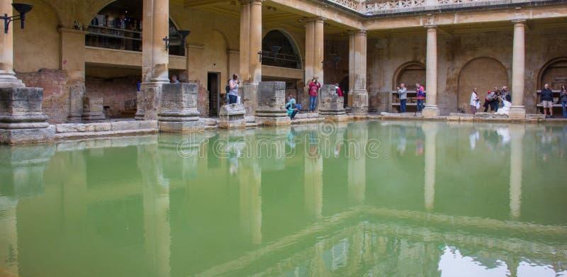 Rzymianów skąpania w skąpaniu, Anglia zdjęcie royalty free