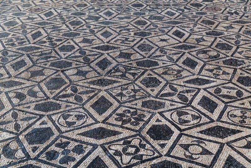 Rzymianin ruiny w Gal miasteczku zdjęcie royalty free