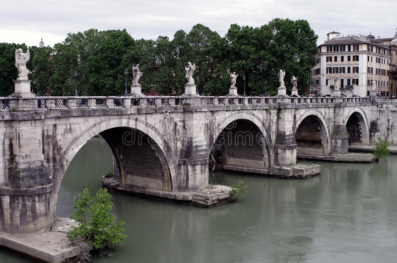 Rzymianina most obraz stock