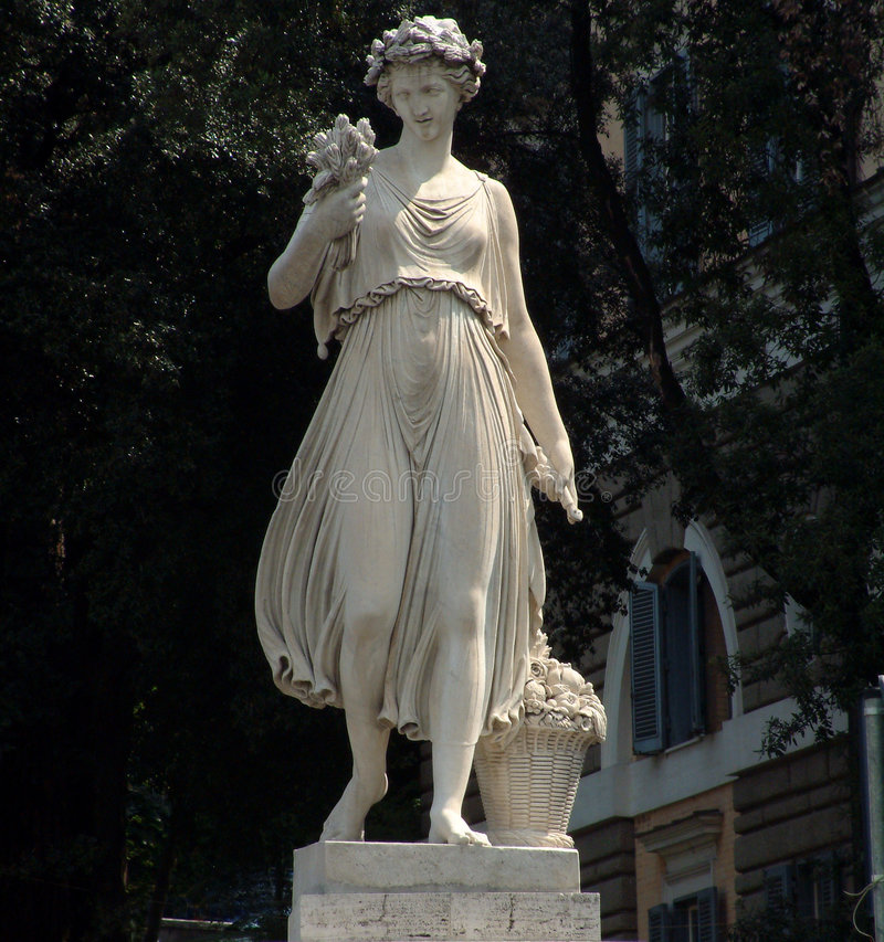 rzymska posąg fotografia stock