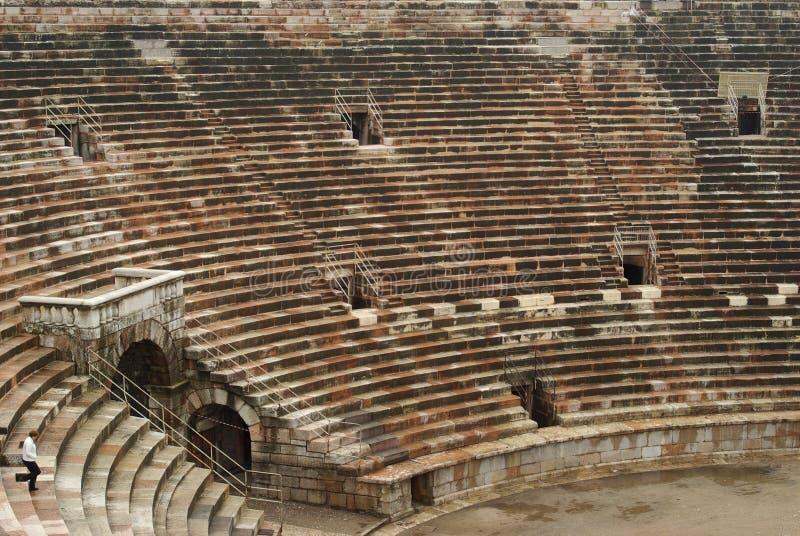 rzymski areny miejsca siedzące obraz stock
