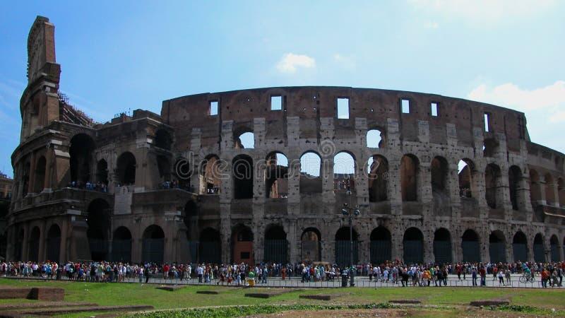 Rzymski Colosseum w Rzym, Włochy zdjęcie stock