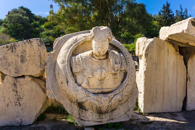 rzymskie rzeźby zdjęcia stock