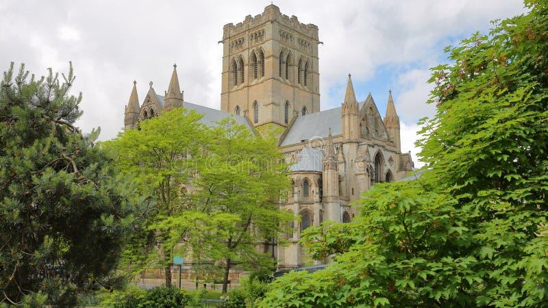 Rzymskokatolicka katedra St John baptysta w Norwich, Norfolk, UK obrazy royalty free