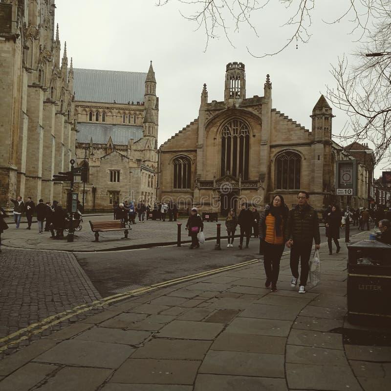 Sábado em York imagem de stock royalty free